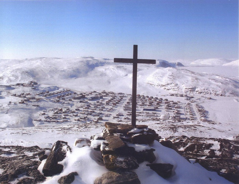 Image of the Cross in the Arctic